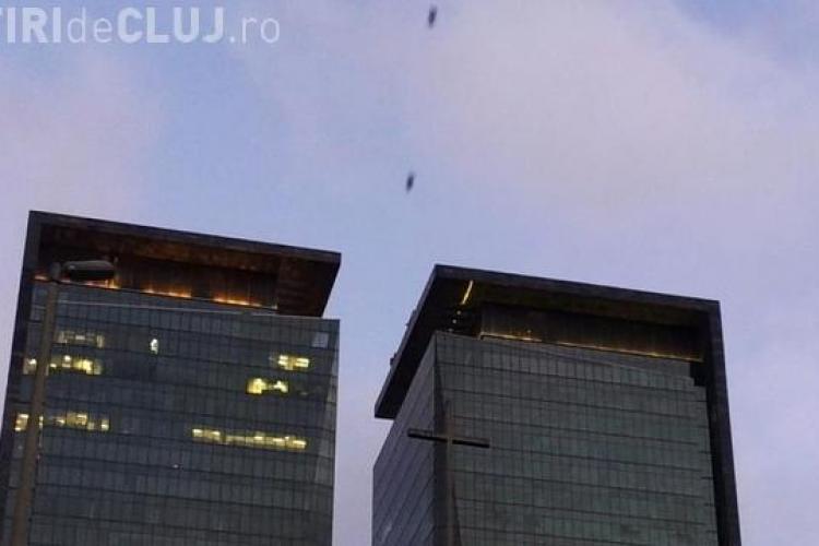 CLIPUL ZILEI: Cum e să zbori ca Superman? Doi bărbați au aflat răspunsul VIDEO