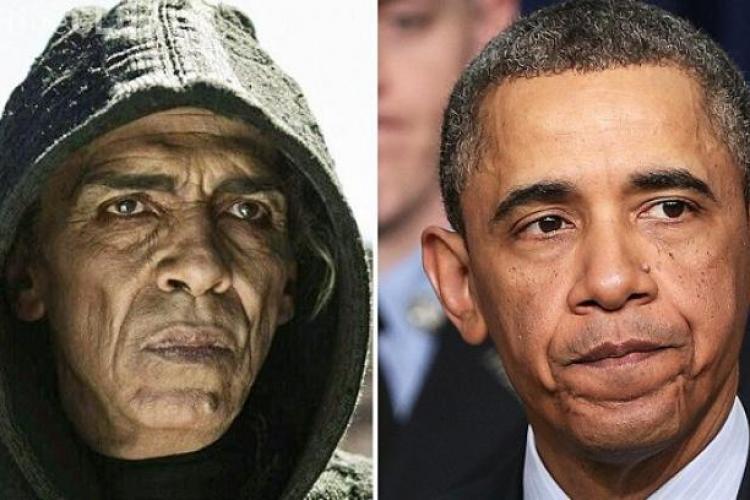Barack Obama este asemănat cu DIAVOLUL dintr-un serial american - VIDEO