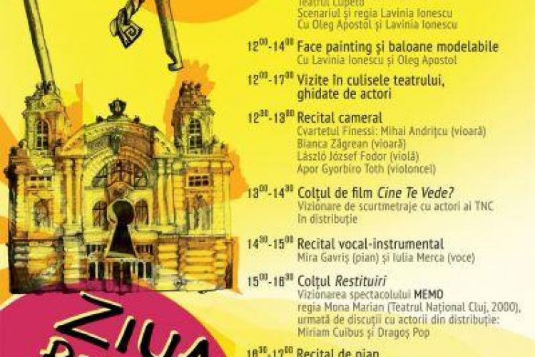 Ziua porților deschise la Teatrul Național din Cluj-Napoca. Vezi aici programul
