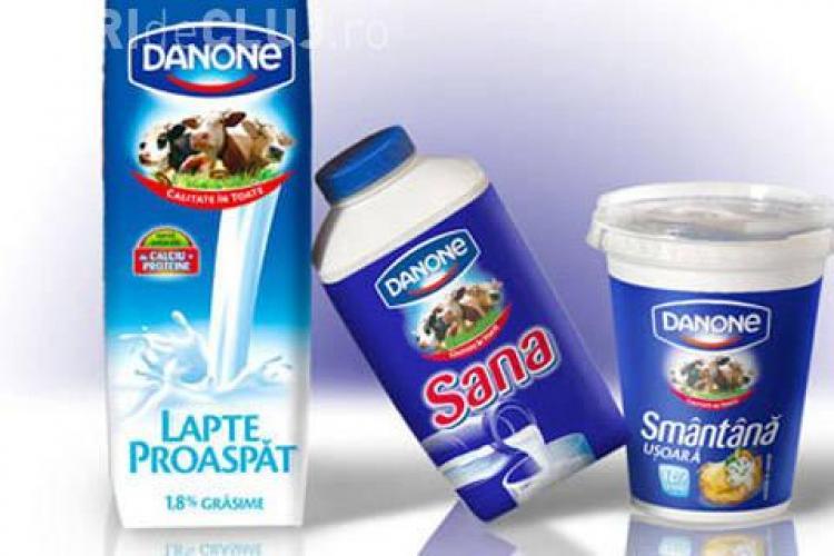 Danone retrage produse de pe piață după scandalul laptelui contaminat