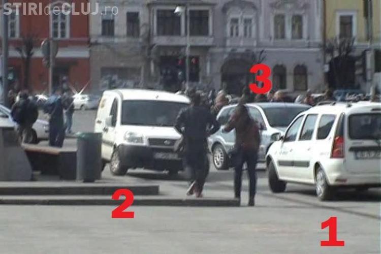 Pe pietonala de pe Eroilor riști să te calce mașina!!! VEZI dovada VIDEO