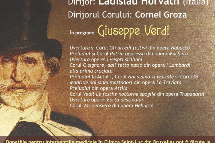 Concert caritabil la Filarmonica Transilvania pentru o tânără cu malformații