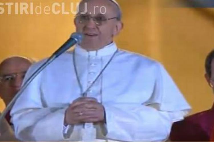 NOUL PAPĂ ESTE FRANCISC I. Noul papă vine din America de Sud - FOTO