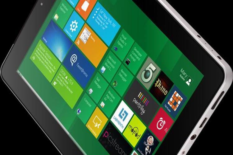 Prima tabletă românească cu Windows 8 își face apariția