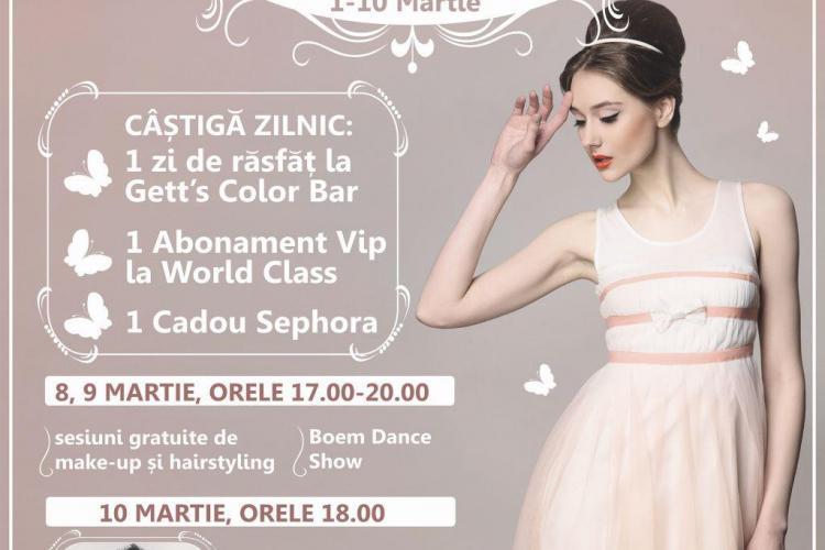 Concert Smiley și fashion show la Iulius Mall Cluj, de Ziua Femeii