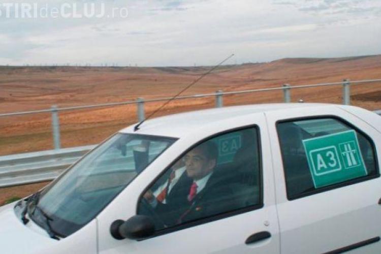 Boc s-a ENERVAT și a explicat modul ABSURD în care s-a proiectat Autostrada Transilvania. Pe genunchi, domnule!