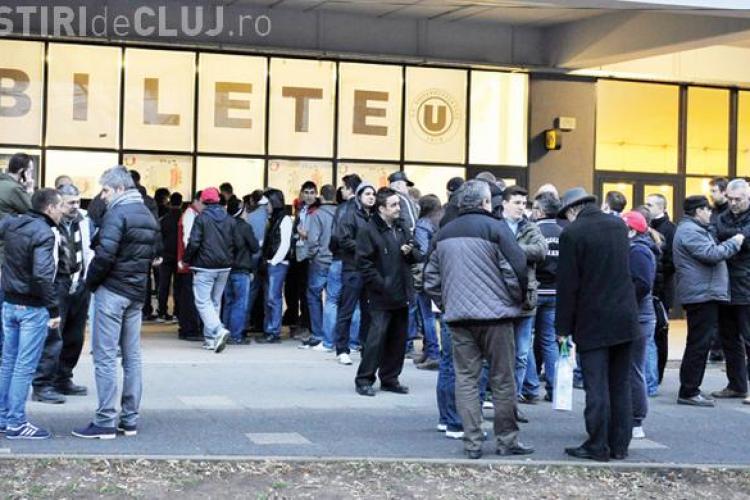 Suporterii U Cluj cumpără bilete de solidaritate cu echipa ADORATĂ