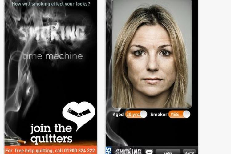 O aplicație de telefon îți arată cât de mult te afectează fumatul