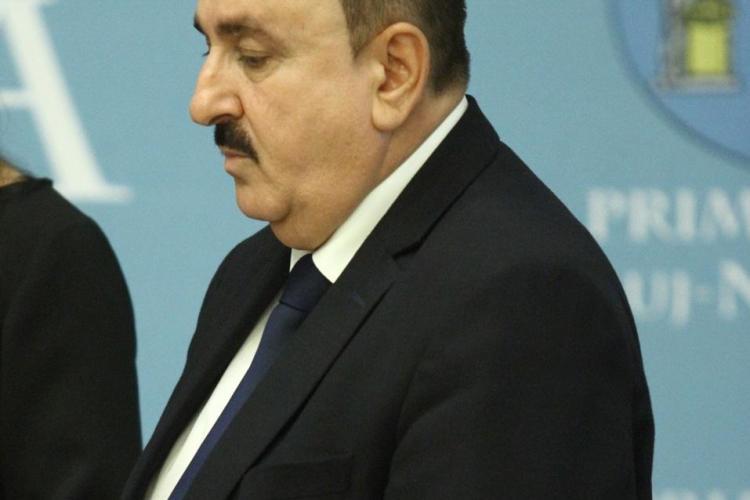 Dumitru Bobină, şef în Primăria Cluj-Napoca şi lider de sindicat, acuzat că a bătut o angajată