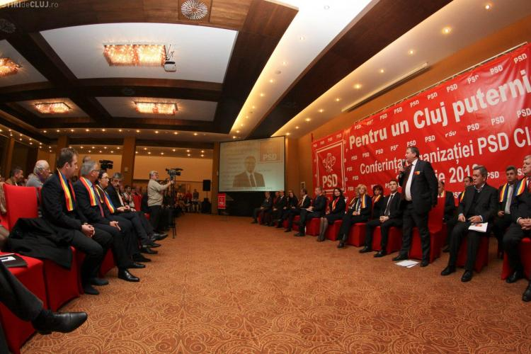 Conducerea PSD Cluj, aleasă în 28 martie 2013! Președinte e Remus Lăpușan. Cine e prim-vicepreședinte și cei 20 de vicepreședinți