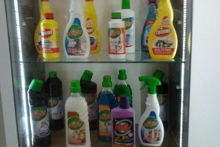 Produsele de curățenie Nufăr și Triumf revin pe piață în această lună