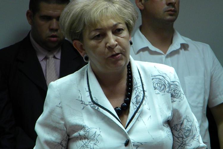 Judecătoarea Siserman vrea să plece din funcţia de preşedinte al Tribunalului Cluj