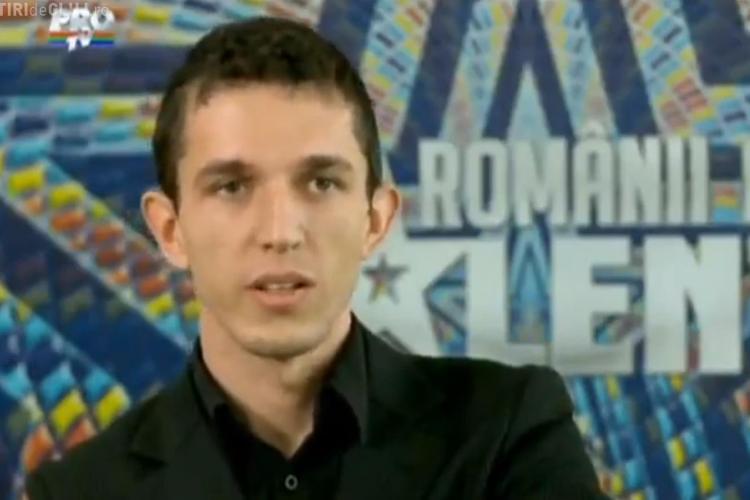ROMÂNII AU TALENT. Andrei Cărciun i-a citit gândurile Andrei - VIDEO