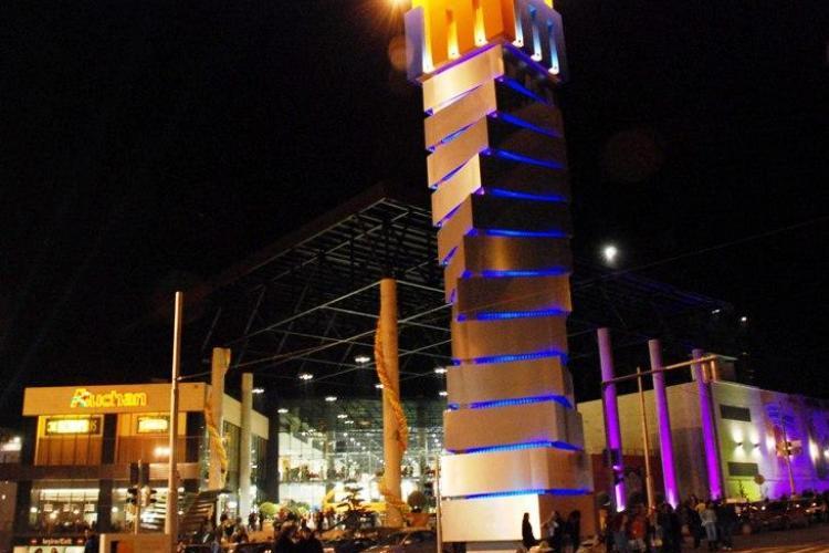 Iulius Mall Cluj stinge luminile de Ora pământului 2013