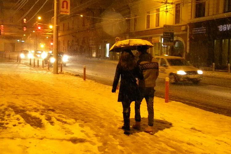 Clujul va ÎNGHEȚA în acest weekend: Temperaturile coboară la -12 grade Celsius. VEZI prognoza pe CLUJ