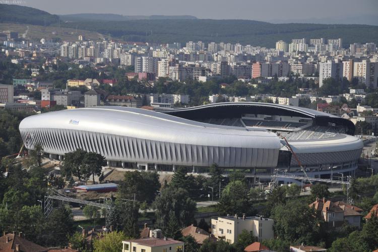 Pe Cluj Arena ar putea juca și FC Bihor și UTA Arad