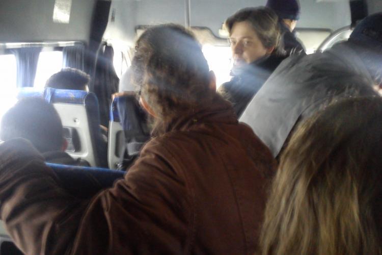 Clujenii transportați de CONFORT TRANS la grămadă, pe rutele Cluj - Feleacu, Cluj - Vâlcele și Cluj - Rediu - FOTO