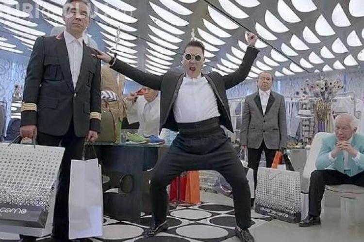 PSY lovește din nou: 14 milioane de vizualizări pe YouTube în 24 de ore VIDEO