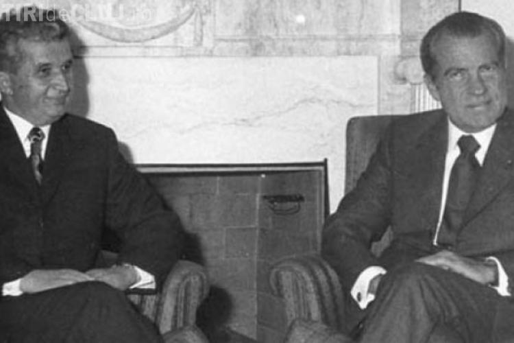 Dezvăluiri WikiLeaks! De ce s-a supărat Ceauşescu pe americani în 1973 și și-a scurtat vizita