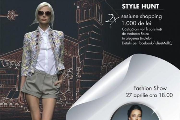 Iulius Mall Cluj își lansează propriul blog de fashion. Lansarea este și cu premii