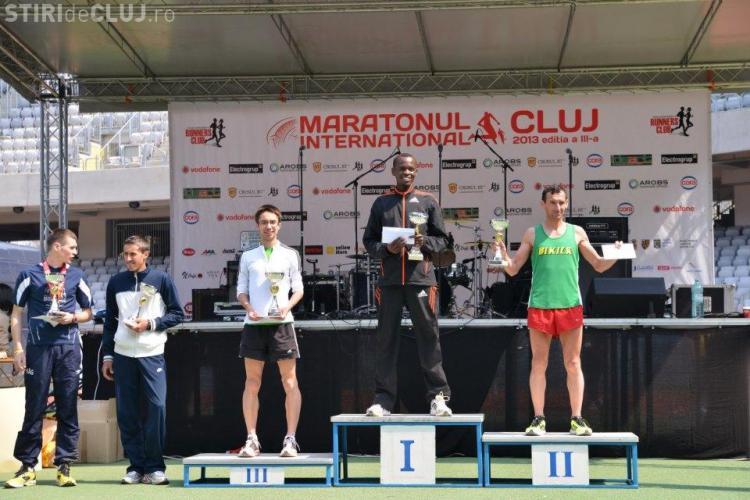 Un kenian a câştigat Maratonul Internaţional Cluj 2013. Locul doi este al unui clujean - FOTO