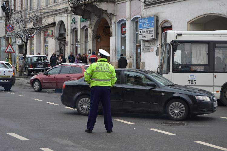 Vitezomanii opriți de Poliția Rutieră Cluj! A fost RECORD de amenzi în acest weekend