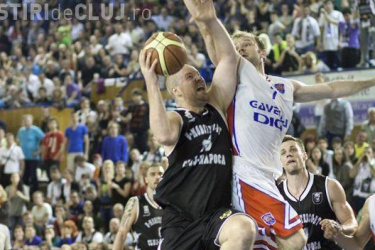 U Mobitelco Cluj a terminat sezonul în lacrimi! Oradea i-a eliminat pe clujeni din play-off