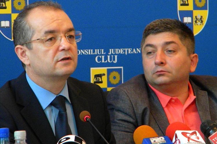 Alin Tișe, unul dintre cei 16 vicepreședinți ai PDL. Se distanțează de Boc și intra sub aripa lui Blaga