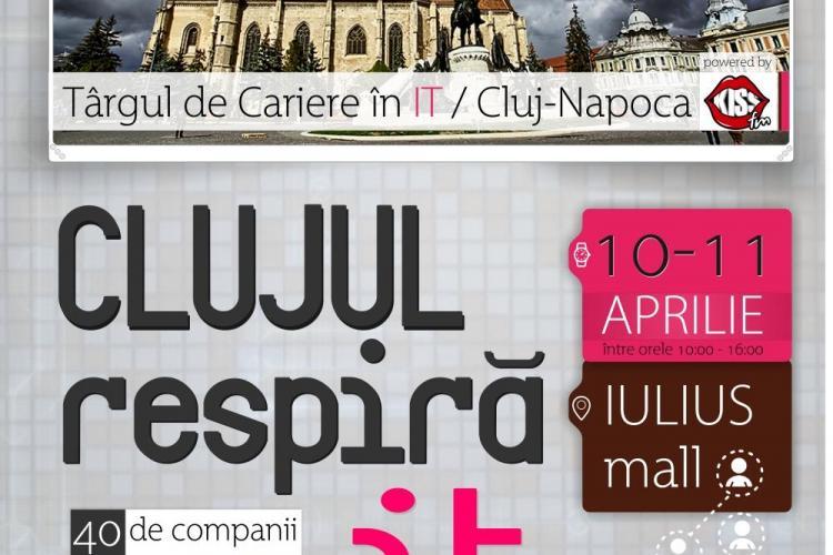Târgul de cariere în IT vine la Cluj-Napoca. Vezi când va avea loc