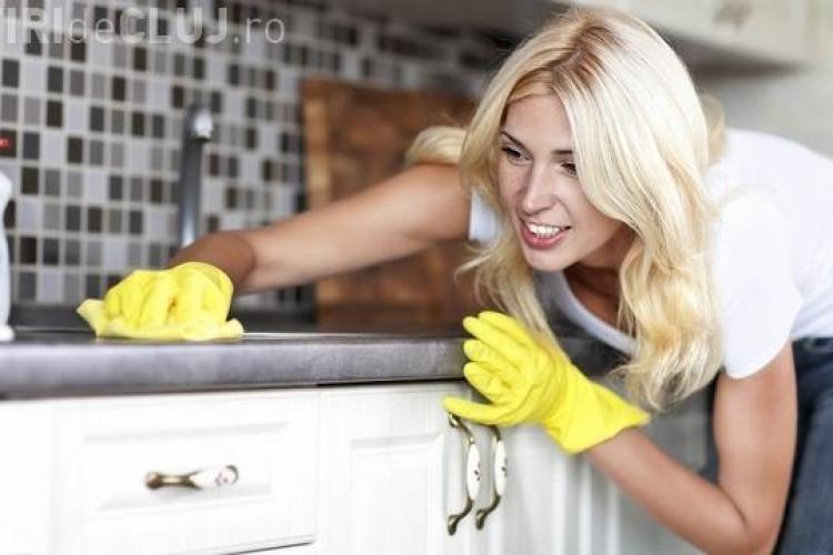Top 10 lucruri din bucătărie care te pot omorî