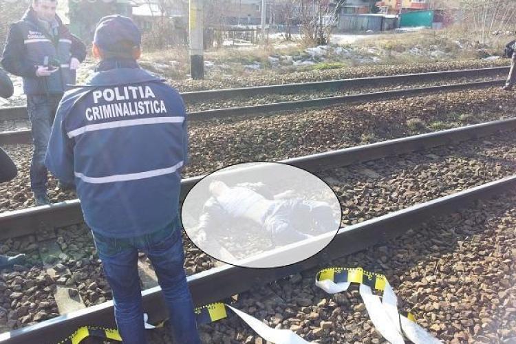 Un bărbat orb și paralizat pe jumătate a fost spulberat de tren în Halta Clujana