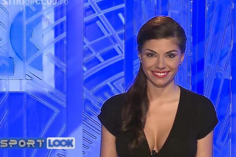 Mama natură de Cluj! Prezentatoarea de sport a Look TV face furori pe Facebook cu un zâmbet SEXY - FOTO