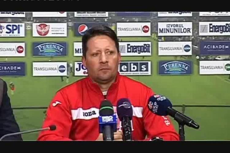 Paulo Sergio, demis de Arpad Paszkany. CFR Cluj își ia antrenor second-hand