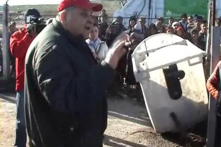 La Cluj nu se mai adună gunoiul menajer. Rampa de la Pata Rât s-a UMPLUT și e închisă - EXCLUSIV