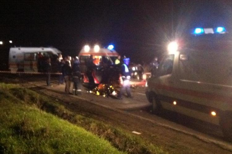Accident în Apahida! Un elev de 17 ani a murit, iar alți 4 tineri au fost răniți - FOTO