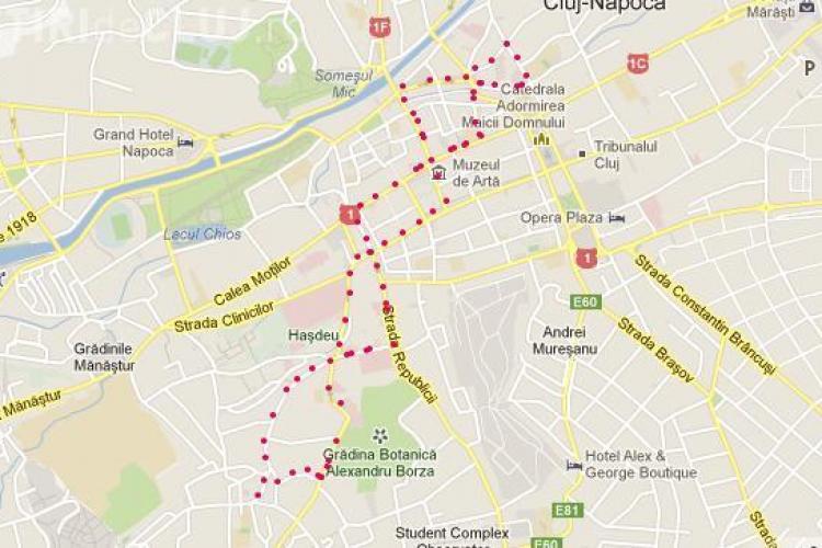 Gropometru.ro îţi spune câte gropi sunt în Cluj-Napoca. Vezi aplicaţia gratuită
