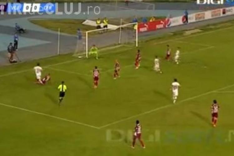 Viitorul Constanţa - CFR Cluj 0-2 - REZUMAT VIDEO COMPLET - Trică face minuni