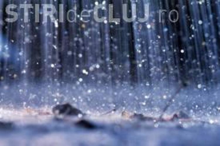 COD GALBEN de ploi și descărcări electrice în județul Cluj