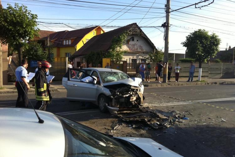 Accident pe Traian Vuia cu trei victime! Trei mașini sunt PRAF - VIDEO