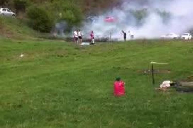 """Au ieșit la Făget, dar au dat foc la câmp: """"Clujenii sunt foarte necivilizați"""" - VIDEO"""