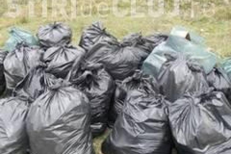 Munți de gunoaie lăsate de clujeni  în Hoia și Făget după ieșirile la picnic