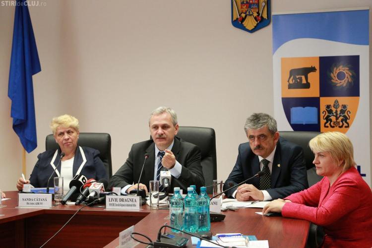 Dragnea la Cluj: Regiunile vor fi înființate în 1 noiembrie. Nu desființăm județele și comunele - FOTO