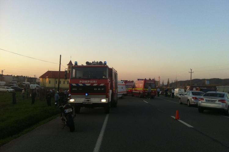 Accident la Bonțida! Un șofer a murit, după ce două mașini s-au făcut PRAF - VIDEO IMAGINI ȘOCANTE