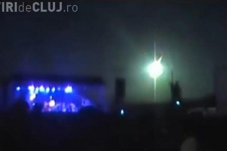 CLIPUL ZILEI: Momentul unic în care a explodat un meteorit în atmosferă VIDEO