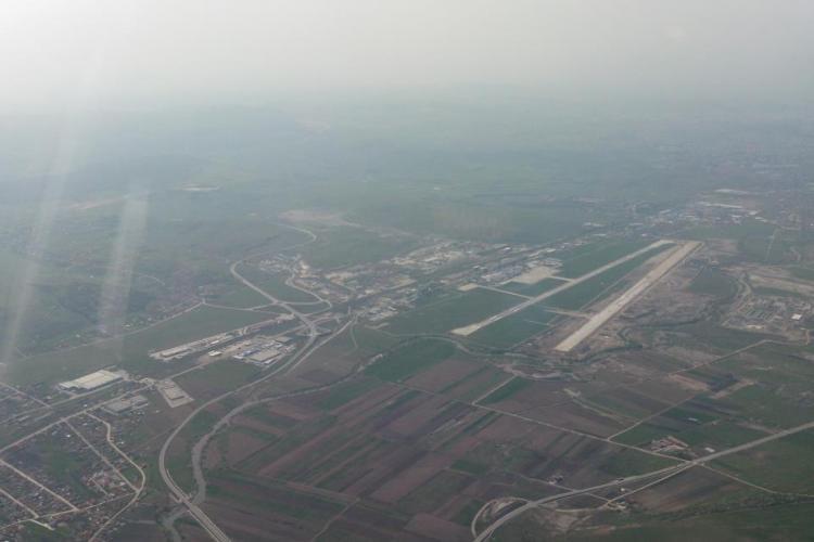 Pista de 2.100 de metri de la Aeroportul Cluj va fi gata în luna septembrie - FOTO SPECTACULOASE CU PISTA