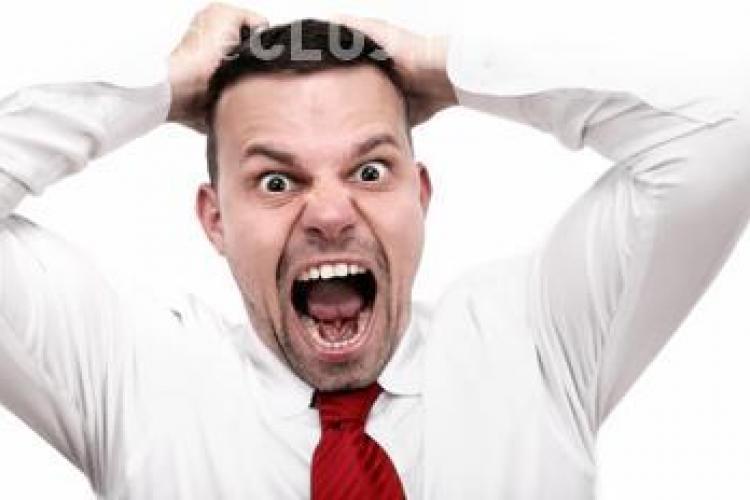 Ești deseori furios? Vezi la ce probleme de sănătate te expui