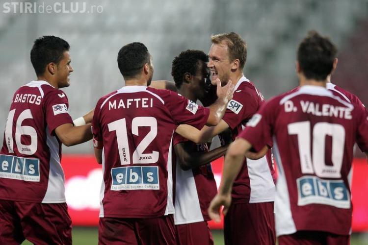 CFR Cluj speră să dea lovitura la meciul cu Steaua