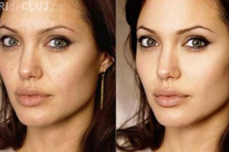 Adevărata față a vedetelor. Imagini înainte și după Photoshop - FOTO