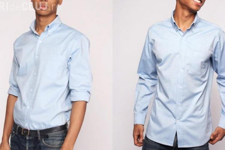 Aşa arată cămaşa care nu trebuie spălată