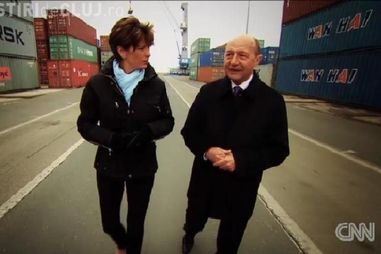 CNN pregătește un documentar cu Traian Băsescu despre Portul Constanța VIDEO